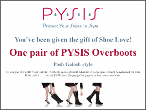 PYSIS Gift Certificate