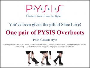 PYSIS Gift Certificate