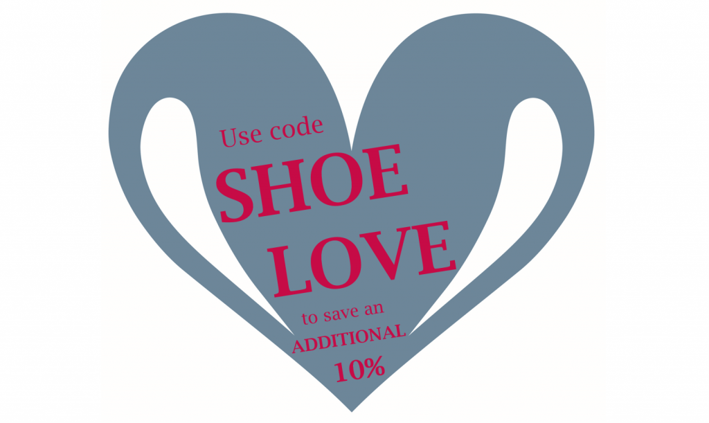Valentine's Day 2016 SHOE LOVE Coupon Code